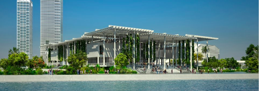 Miami Art Museum Construction Video Blog - Part One